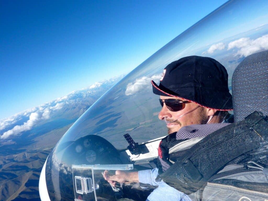 pilote de planeur